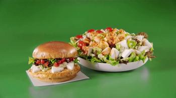 Wendy's Fresh Mozzarella Chicken Sandwich and Salad TV Spot, 'Taste Fresh' - Thumbnail 7