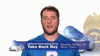Dea Tv Commercial 2017 Prescription Drug Take Back Day Feat