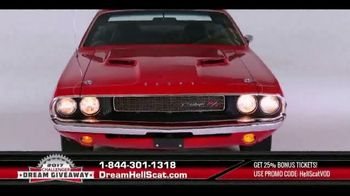 2017 Challenger Dream Giveaway TV Commercial, 'Meet the Demon Slayer  HellScat' - Video