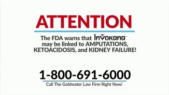 Goldwater Law Firm TV Spot, 'Type 2 Diabetes Medications'