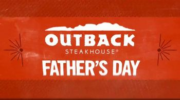 Outback Steakhouse TV Spot, 'Tomahawk Bone-In Ribeye for Dad's Day'