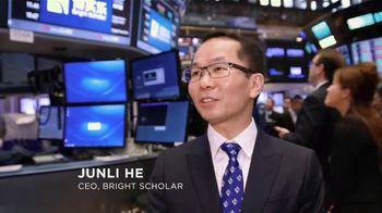 New York Stock Exchange TV Spot, 'Bright Scholar'