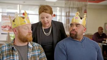 Burger King Mushroom & Swiss King TV Spot, 'Flying'