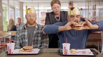 Burger King Mushroom & Swiss King TV Spot, 'Flying'