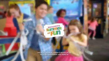 Chuck E. Cheese's TV Spot, 'Summer of Fun'