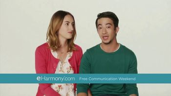 eHarmony Free Communication Weekend TV Spot, \'Message Your Matches\'