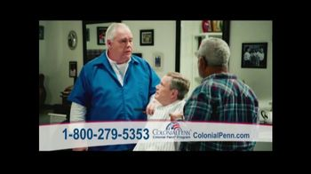 Colonial Penn Whole Life Insurance TV Spot, 'Barber' Featuring Alex Trebek
