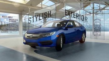 2017 Honda Civic LX TV Spot, 'Discover All the Reasons'