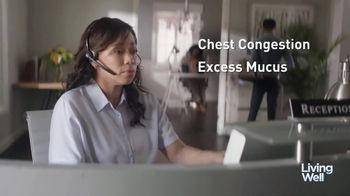 Mucinex Maximum Strength 12-Hour TV Spot, 'Living Well: Excess Mucus'