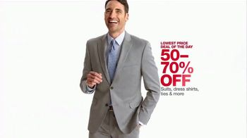 Macy's One Day Sale TV Spot, 'Suits and Accessories'
