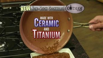 Gotham Steel Pan TV Spot, 'Titanium Ceramic Surface' Featuring Daniel Green - 3 commercial airings
