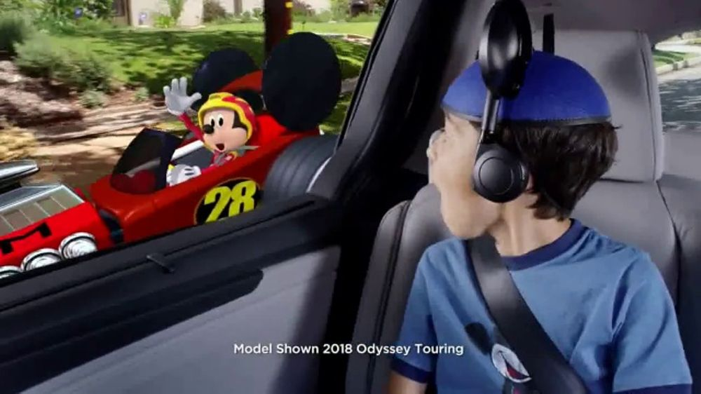 2018 Honda Odyssey Tv Commercial Disney Junior Mickey