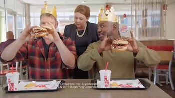 Burger King Mushroom & Swiss King TV Spot, 'Elegant'