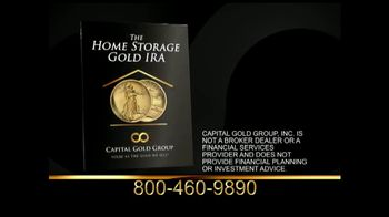 Capital Gold Group Home Storage Gold IRA TV Spot, 'Quick Access'
