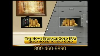 Capital Gold Group Home Storage Gold IRA TV Spot, \'Quick Access\'