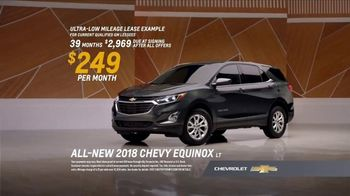 2018 Chevrolet Equinox LT TV Spot, 'Everybody, Everywhere' - Thumbnail 8