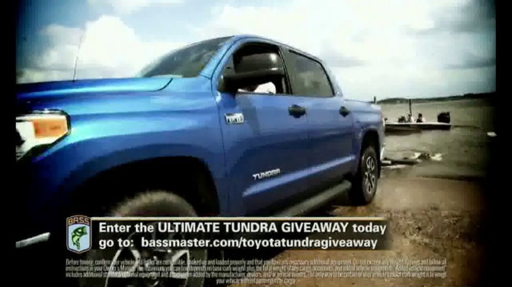 Bassmaster Ultimate Tundra Giveaway Tv Commercial It