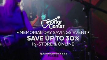 Guitar Center Memorial Day Savings Event TV Spot, 'Guitar Stand'