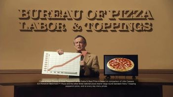 Little Caesars EXTRAMOSTBESTEST Pizza TV Spot, 'The Pizza Economy'