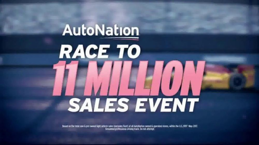 Autonation Race To 11 Million Sales Event Tv Commercial
