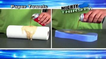 Mighty Thirsty TV Spot, 'Sponges Never Thrill' - 6 commercial airings