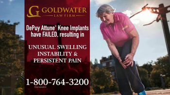 Goldwater Law Firm TV Spot, 'Knee Implants'