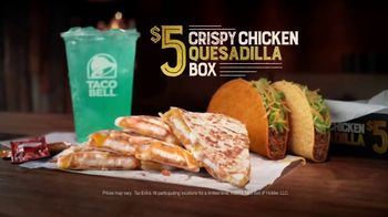Taco Bell Crispy Chicken Quesadilla Box TV Spot, 'A More Perfect Union' - Thumbnail 10