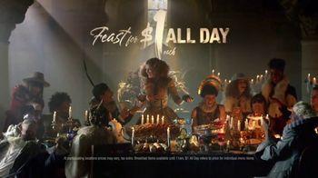 Taco Bell $1 All Day Menu TV Spot, 'Feast' - Thumbnail 9