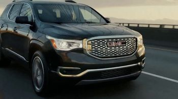 2017 GMC Acadia SLE-1 TV Spot, 'Like a Pro: Anthem'