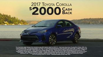 2017 Toyota Corolla TV Spot, 'Live With Inspiration' - Thumbnail 9