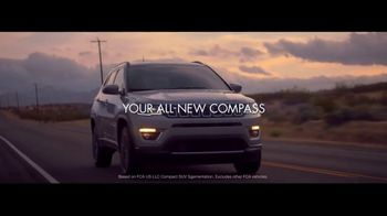 2017 Jeep Compass Latitude TV Spot, 'VIP Suite'