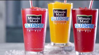 McDonald's Minute Maid Slushies TV Spot, 'Totally Chill'