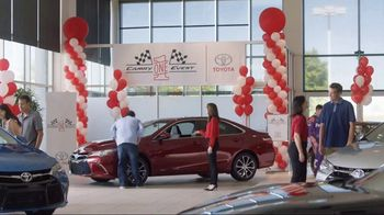 Toyota Camry One Event TV Spot, 'Test Drive' Featuring Denny Hamlin - Thumbnail 1