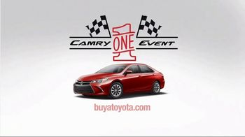 Toyota Camry One Event TV Spot, 'Test Drive' Featuring Denny Hamlin - Thumbnail 7