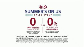 Kia Summer's on Us Sales Event TV Spot, 'Jet Ski' - Thumbnail 9