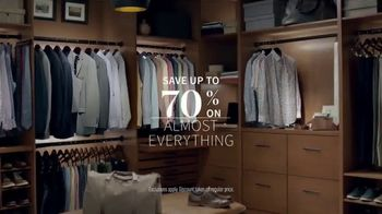 JoS. A. Bank Super Tuesday Sale TV Spot, 'Executive Suits & Traveler'