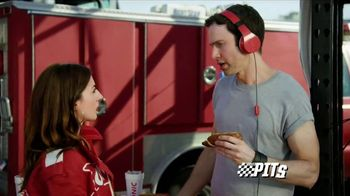 Sonic Drive-In Premium Pretzel Dogs TV Spot, 'NBC Sports Network: The Pits'