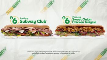 Subway $6 Footlong Subs TV Spot, 'Everyone's Favorite'