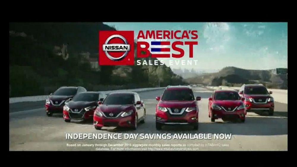 Nissan America S Best Sales Event Tv Commercial Rock