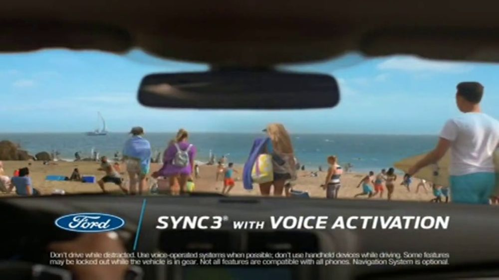 Ford Summer Sales Event Tv Commercial Secret Spot Sync