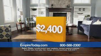 Empire Today 1/2 Price Sale TV Spot, 'Flooring Styles'