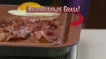 Gotham Steel Double Grill TV Spot, 'Resistente' con Graham Elliot [Spanish] - Thumbnail 4