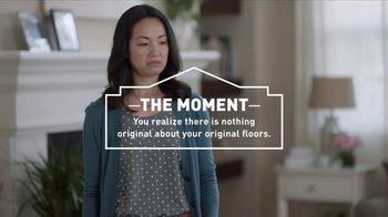 Lowe\'s TV Spot, \'The Moment: Original Floors\'