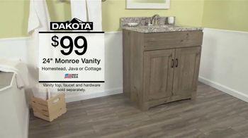 menards menard days sale tv spot bathrooms vanities and faucets thumbnail - Menards Bathroom Vanities