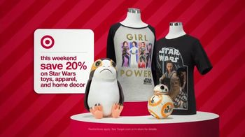 Target Tv Commercial 2017 Holidays Weekend Deals On Star Wars