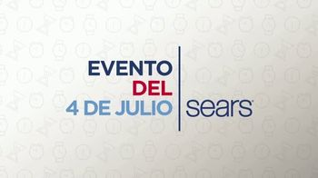 Sears Evento del 4 de Julio TV Spot, 'Electrodomésticos y más' [Spanish]