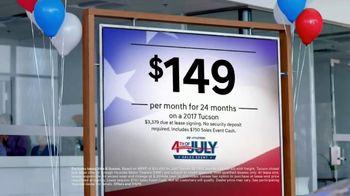 Hyundai 4th of July Sales Event TV Spot, '2017 Tucson'
