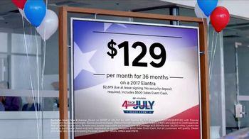 Hyundai 4th of July Sales Event TV Spot, 'Prepping: 2017 Elantra'