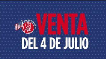 JCPenney Venta del 4 de Julio TV Spot, 'Electrodomésticos' [Spanish]