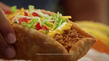 Taco Bell $5 Double Chalupa Box TV Spot, 'Aun mejor' [Spanish]